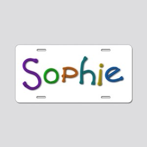 Sophie Play Clay Aluminum License Plate