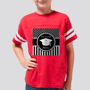 Graduation Personalized Dotte Youth Football Shirt