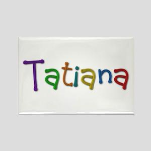 Tatiana Play Clay Rectangle Magnet