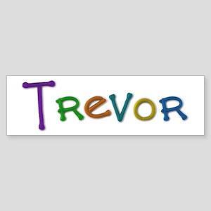 Trevor Play Clay Bumper Sticker