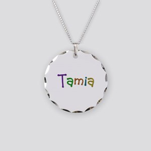 Tamia Play Clay Necklace Circle Charm