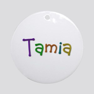 Tamia Play Clay Round Ornament