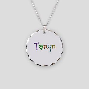Taryn Play Clay Necklace Circle Charm