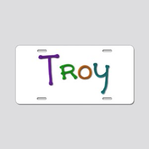 Troy Play Clay Aluminum License Plate