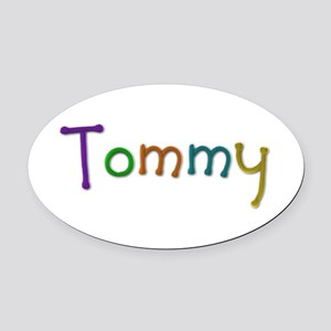 Tommy Play Clay Oval Car Magnet