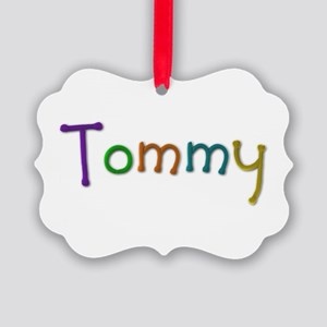 Tommy Play Clay Picture Ornament