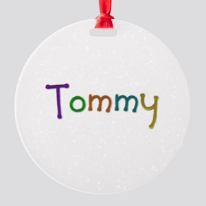 Tommy Play Clay Round Ornament