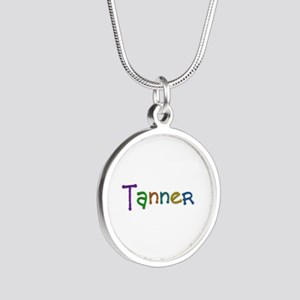 Tanner Play Clay Silver Round Necklace