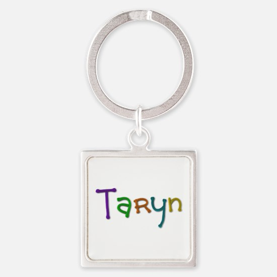 Taryn Play Clay Square Keychain
