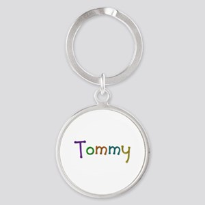 Tommy Play Clay Round Keychain