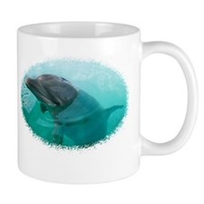Dolphin Face - Mug