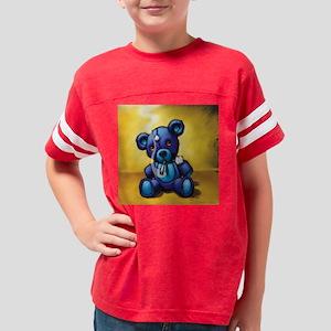 SmokinBearSquare Youth Football Shirt