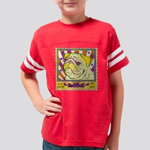 propaganda classic pug Youth Football Shirt