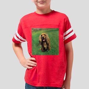 Cocker Spaniel coaster Youth Football Shirt
