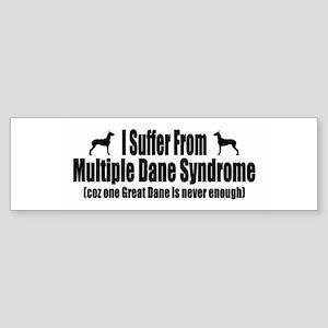 Great Dane Sticker (Bumper)