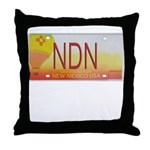 New Mexico NDN Pride Throw Pillow