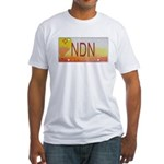 New Mexico NDN Pride Fitted T-Shirt