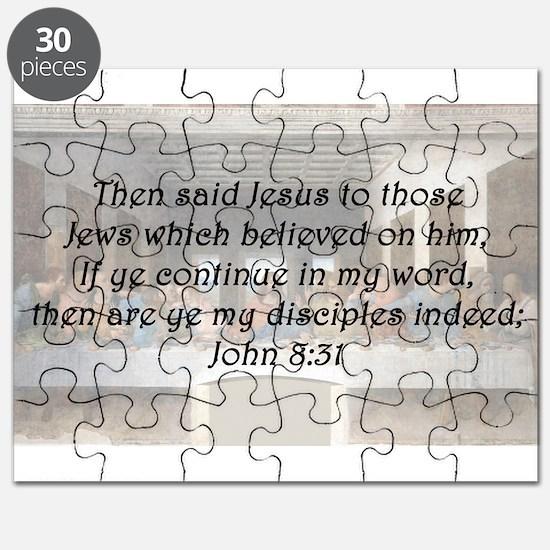 John 8:31 Puzzle