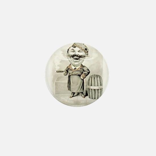 The jolly smoker - 1880 Mini Button