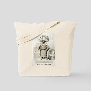 The jolly smoker - 1880 Tote Bag