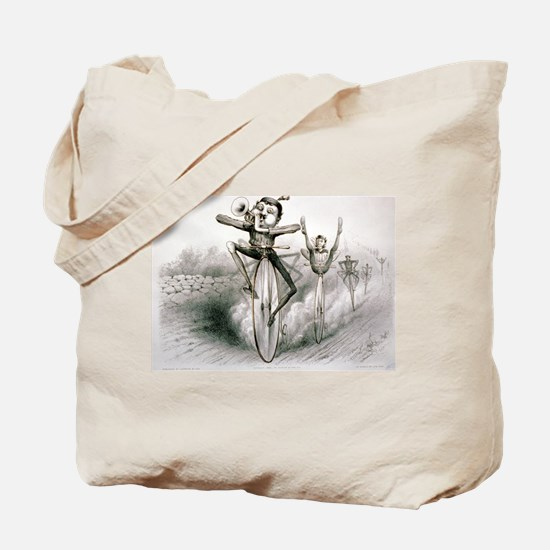 The graces of the bicycle - 1880 Tote Bag