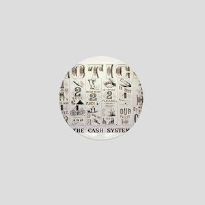 The cash system - 1877 Mini Button