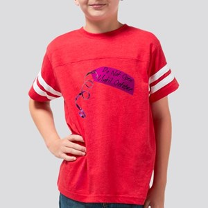 DoNotOpenOCTp Youth Football Shirt