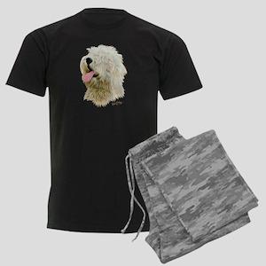 Old Eng. Sheepdog / Bobtail Men's Dark Pajamas