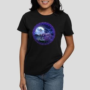 Contemplative Elephants Women's Dark T-Shirt