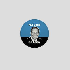 Mayor Grabby San Diego Mini Button