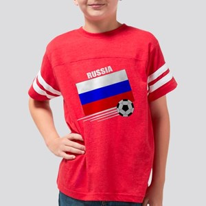 soccer russia & ball drk Youth Football Shirt