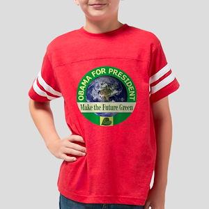 t-shirt future green 05 Youth Football Shirt