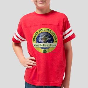 t-shirt future green 06 Youth Football Shirt