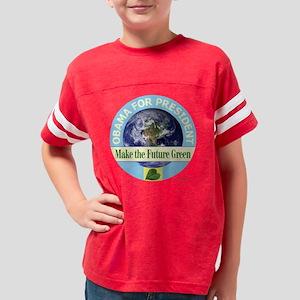 t-shirt future green 07 Youth Football Shirt