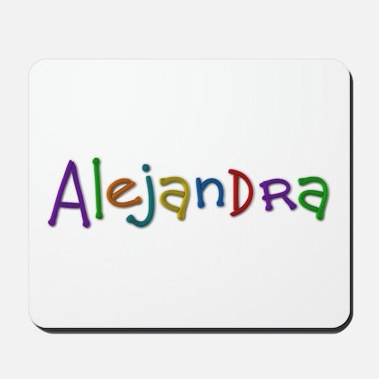 Alejandra Play Clay Mousepad