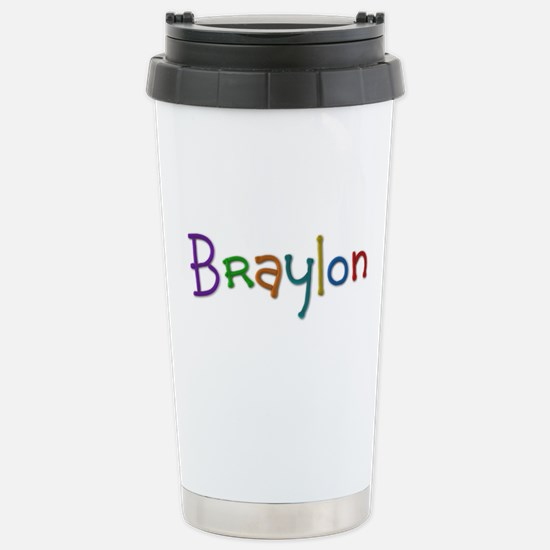 Braylon Play Clay Stainless Steel Travel Mug