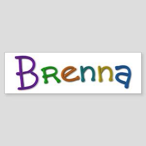 Brenna Play Clay Bumper Sticker