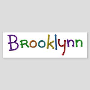 Brooklynn Play Clay Bumper Sticker