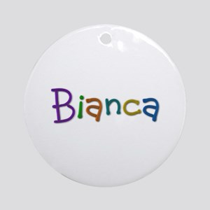 Bianca Play Clay Round Ornament