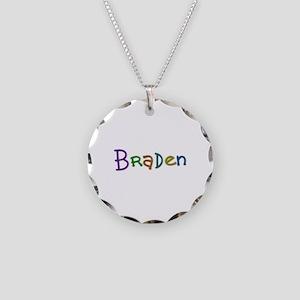 Braden Play Clay Necklace Circle Charm