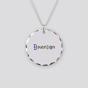 Brendan Play Clay Necklace Circle Charm