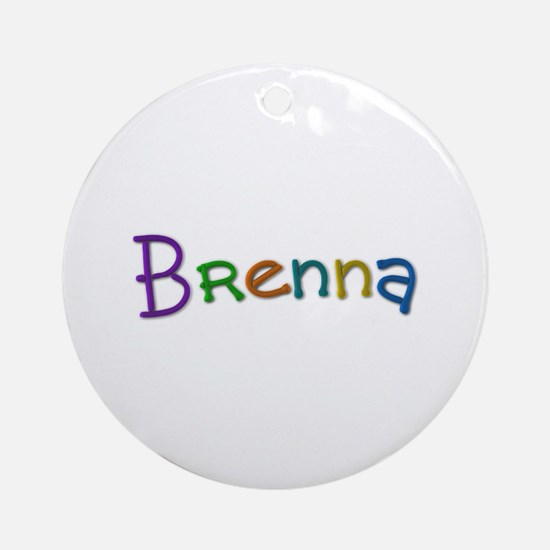 Brenna Play Clay Round Ornament
