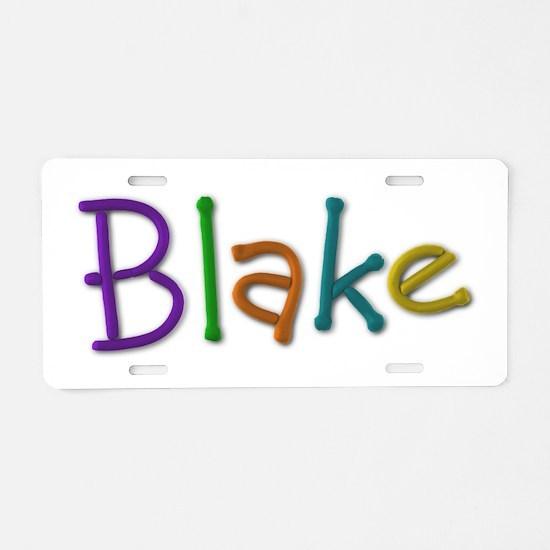Blake Play Clay Aluminum License Plate
