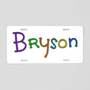 Bryson Play Clay Aluminum License Plate