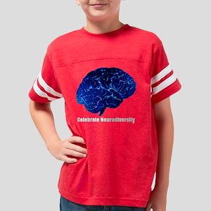 Celebrate Neurodiversity Youth Football Shirt