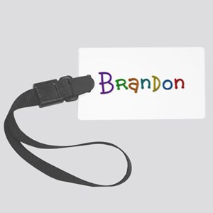 Brandon Play Clay Large Luggage Tag