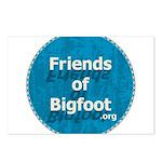 Friends of Bigfoot Postcards (Pkg. of 8)