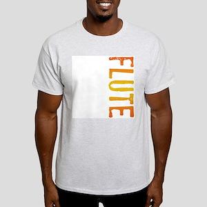 Flute Stamp Ash Grey T-Shirt