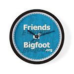 Friends of Bigfoot Wall Clock
