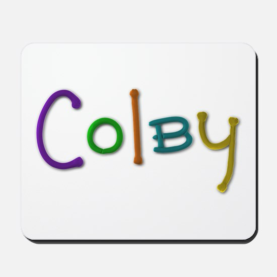 Colby Play Clay Mousepad